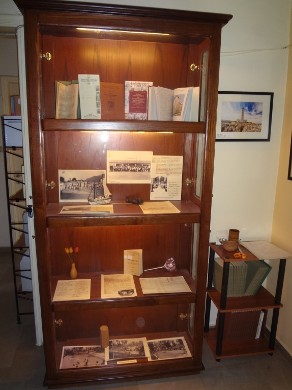 Display case, Archives office, Sparta